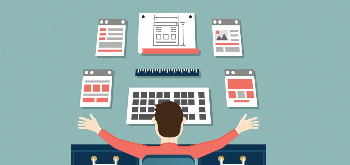 Web Design Trends Of 2017 Illustration | Jask Creative