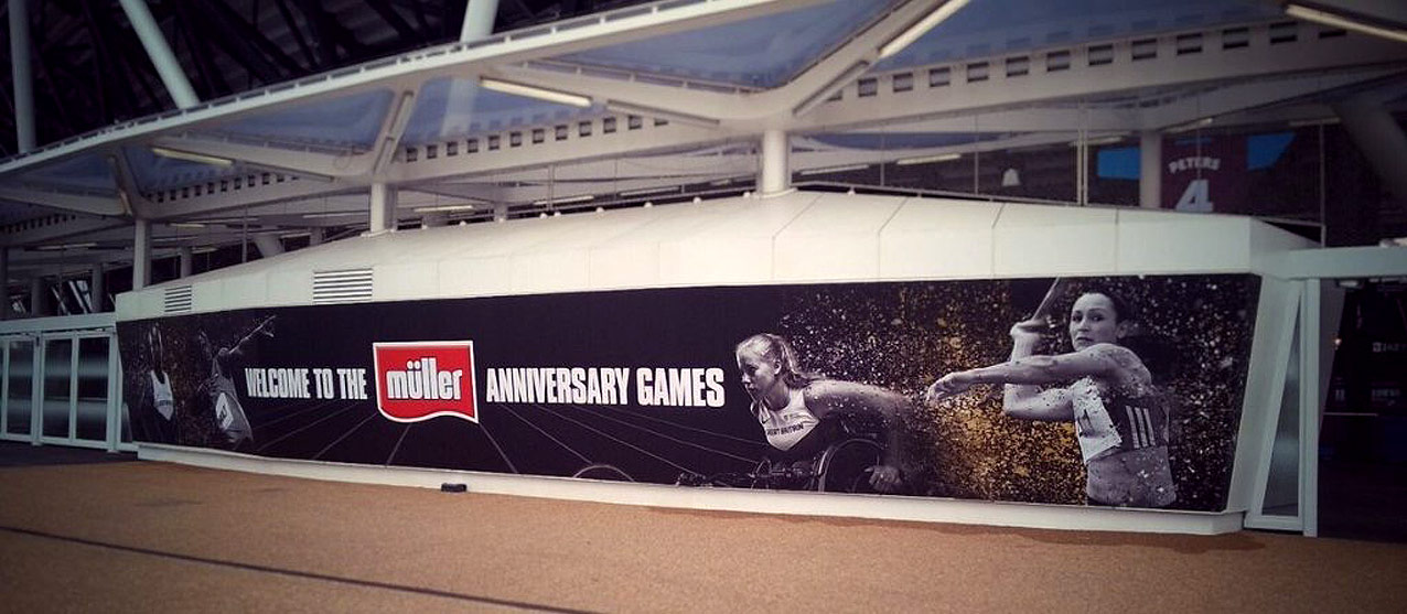 Anniversary Games 2016 Large Banner | Jask Creative