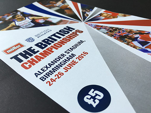 British Athletics Brochure 2016 | Jask Creative