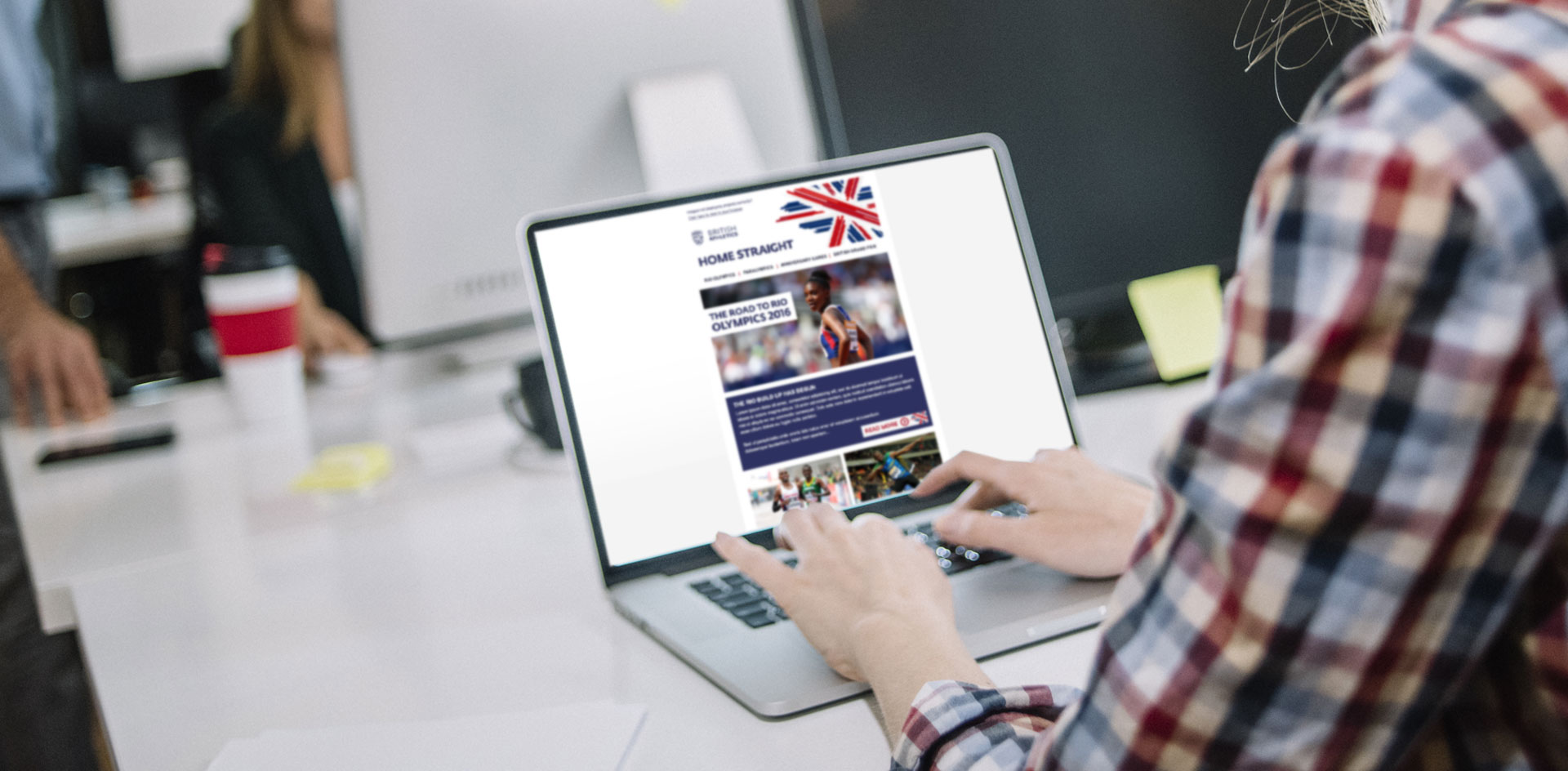 British Athletics Home Straight Email Campaign | Jask Creative