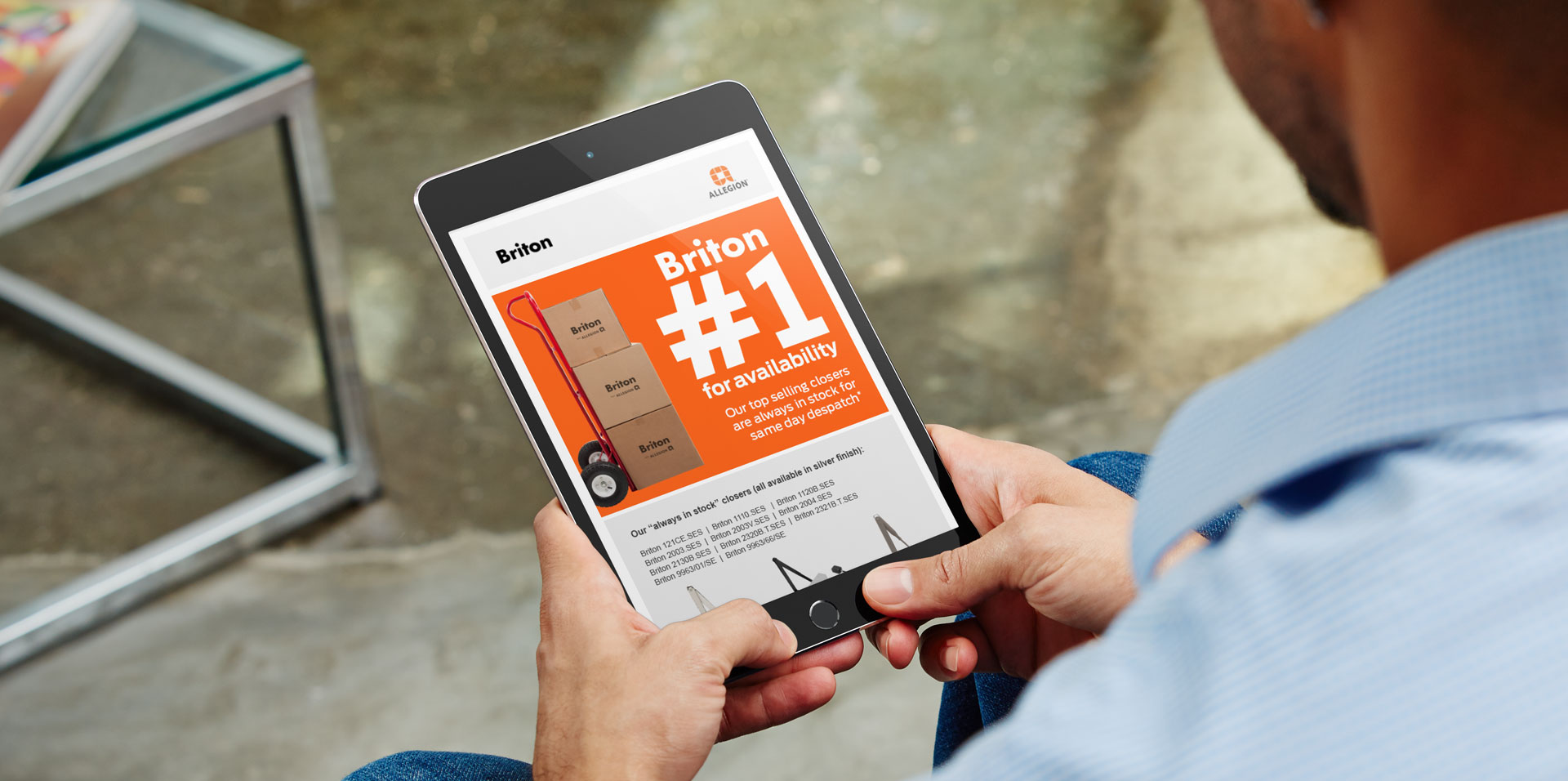 Allegion Email Campaign | Jask Creative