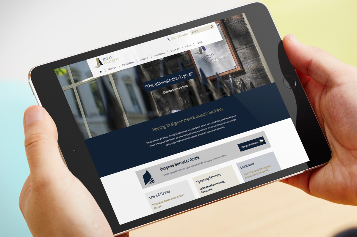 Arden Chambers Case Study | Jask Creative
