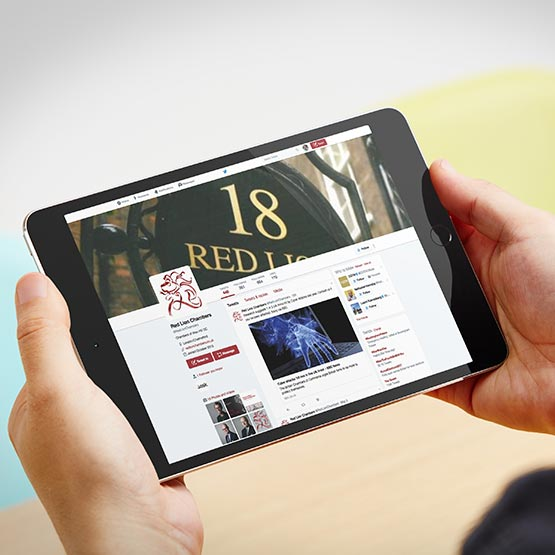 Red Lion Case Study - Tablet Landscape | Jask Creative