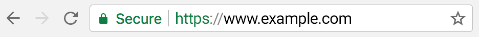 Chrome 60 Address Bar - HTTPS