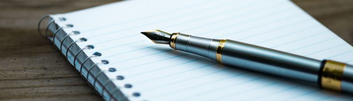 How to write a press release using a pen and paper