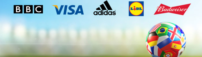 marketing brands creating campaigns and adverts for the world cup 2018