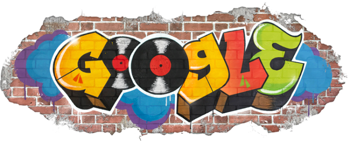 Google Doodle the Birth of Hip Hop Creative Campaign